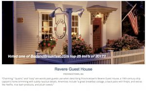 BedandBreakfast.com top 25